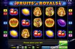sloto yunu Fruits and Royals Gaminator