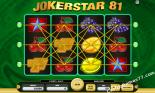sloto yunu Joker Star 81 Kajot Casino