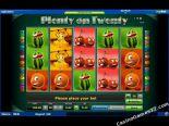 sloto yunu Plenty on Twenty Novomatic